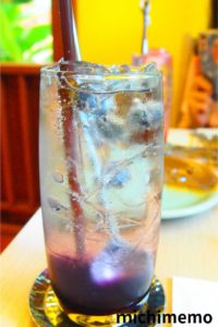 タイ メイのレストラン ぶどうジュース