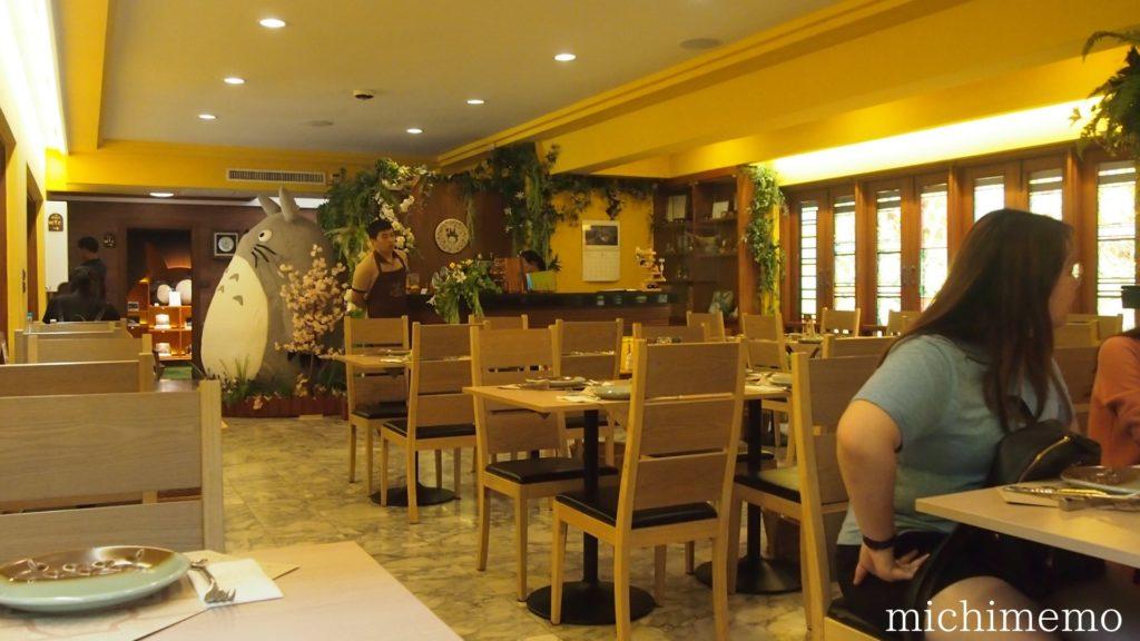 タイ メイのレストラン 内装